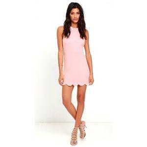 Lulu's Favorite Feeling peach dress